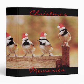 Santa Chickadees 1 5 Photo Album Vinyl Binders