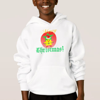 ♫♥Santa Chicken Fun  Hooded Sweatshirt♥♪ Hoodie