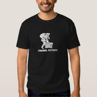 Santa chimney: Criminal Activity T Shirt