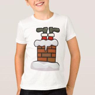 Santa chimney shirt