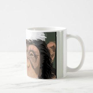 Santa Chimp Coffee Mugs
