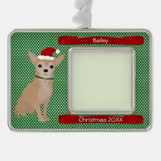 Santa Chiuauaha Personalized Keepsake Ornament