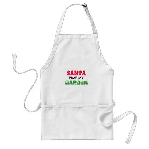 santa christmas apron