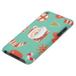 Santa Christmas Barely There iPod Case