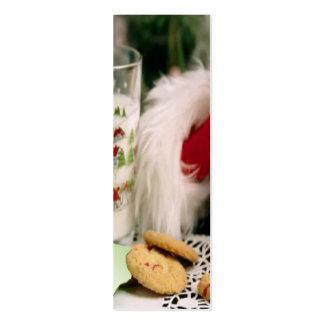 Santa Christmas Bookmark Business Card