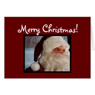 Santa [Christmas Card] Greeting Card