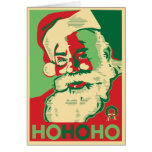 Santa Christmas Card - HoHoHo