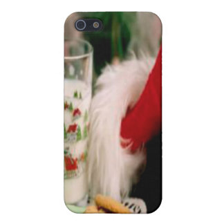 Santa Christmas Hat i Case For iPhone SE/5/5s