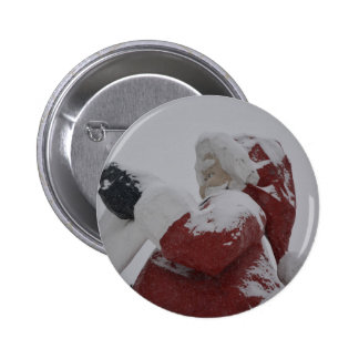 Santa Christmas Holiday Snow Snowflake Frozen Ice Pin