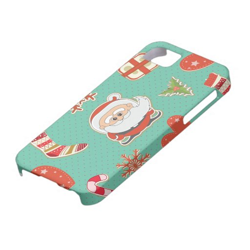 Santa Christmas iPhone 5 Cover