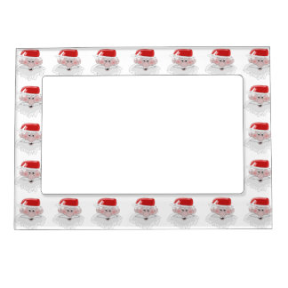 Santa Christmas Magnetic Picture Frame