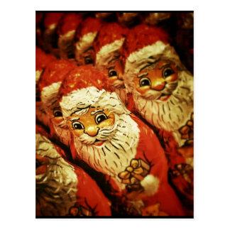 Santa Christmas  Merry Joy Peace Seasons Jolly Postcards