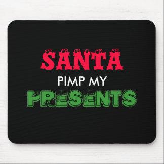 santa christmas mousepad