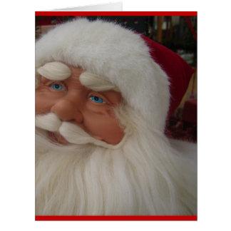 Santa Christmas Winter December Peace Love Destiny Card