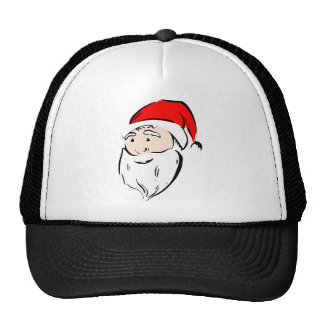 Santa Christmas Winter December Peace Love Destiny Trucker Hat