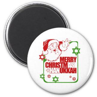 Santa Christmukkah Imanes
