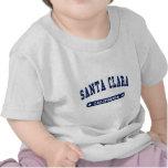 Santa Clara California College Style tee shirts