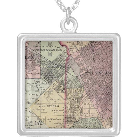 Santa Clara Co 5 Silver Plated Necklace