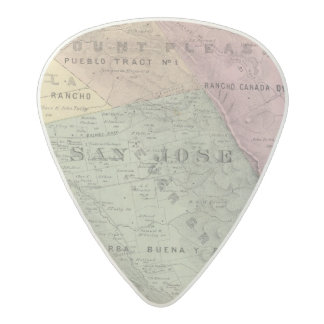 Santa Clara Co 6 Acetal Guitar Pick