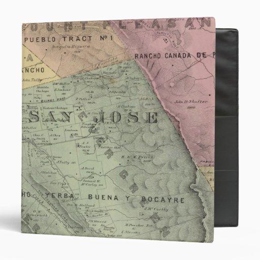 Santa Clara Co 6 Vinyl Binders