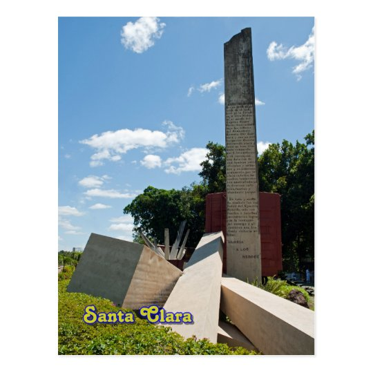 Santa Clara, Cuba - Che Guevara memorial stone Postcard