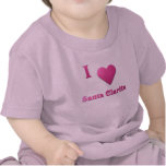 Santa Clarita -- Rosas fuertes Camisetas