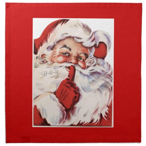 Santa clásico servilleta