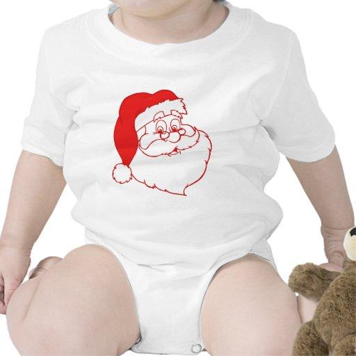 Santa claus2 traje de bebé