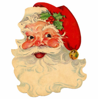 Santa Claus 1 Pin Cutout