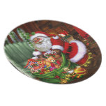 Santa Claus 1 Plates