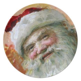 Santa Claus 2 Dinner Plate