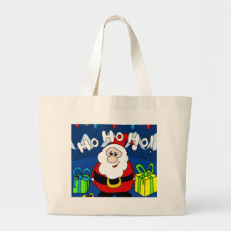Santa Claus 2 Large Tote Bag