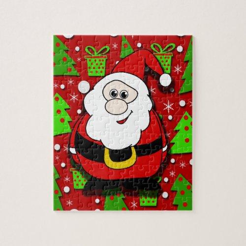 Santa Claus Cartoon Jigsaw Puzzle