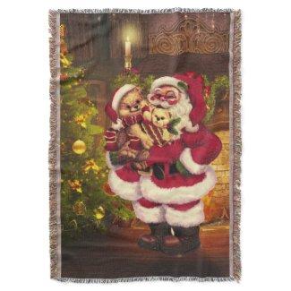 Santa Claus 3 Throw