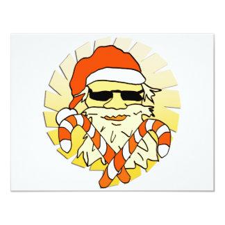Santa Claus 4.25x5.5 Paper Invitation Card