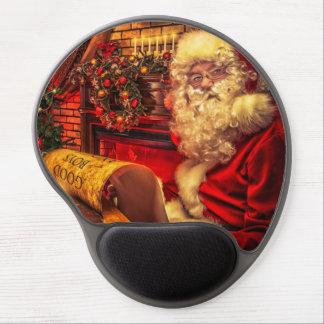 Santa Claus 4 Gel Mouse Pad