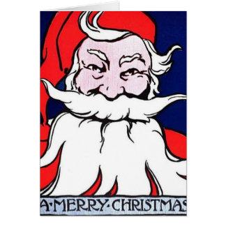 Santa Claus A Merry Chritsmas Card