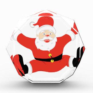 Santa Claus Acrylic Award