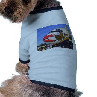 SANTA CLAUS AIRLINER MID-AIR PET CLOTHES