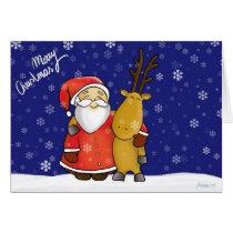 Santa Claus and annuitant Card