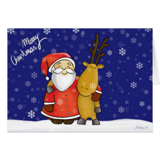 Santa Claus and annuitant Card