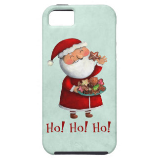 Santa Claus and Cookies iPhone 5 Case