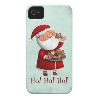 Santa Claus and Cookies Case-Mate iPhone 4 Case