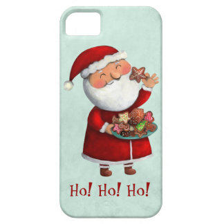 Santa Claus and Cookies iPhone 5 Cases