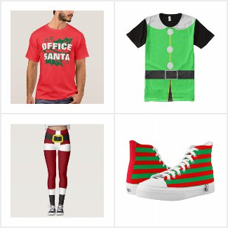 Santa Claus and Elf Apparel