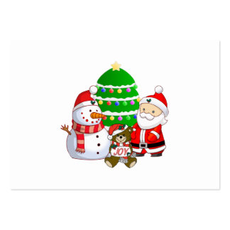 Santa Claus and Friends Business Card