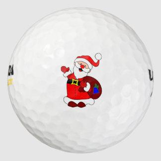 Santa Claus Golf Balls | Zazzle