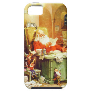 Santa Claus and His Elves Check His List iPhone SE/5/5s Case