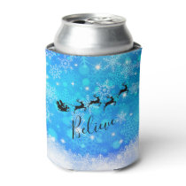 Santa Claus and his Flying Reindeer - Believe Can Cooler