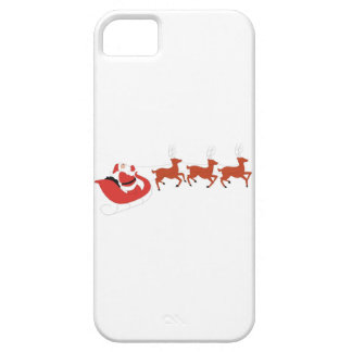 Santa Claus and His Reindeer iPhone SE/5/5s Case